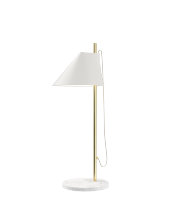 Louis Poulsen YUH brass and marble table lamp