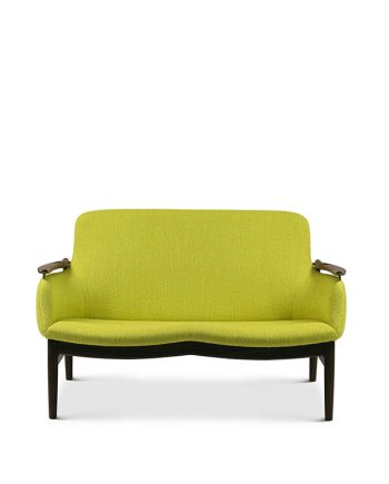 Finn Juhl | FJ 53 Sofa | Walnut frame and fabric upholstery