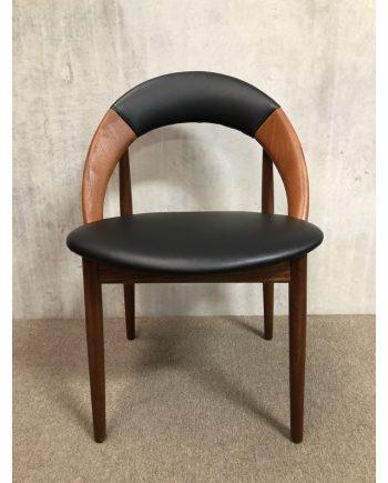 Rare Danish vintage 'Hoop Chair' in Teak   Arne Hovmand Olsen