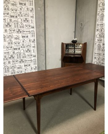 Vintage Danish Table in Rosewood with extensions   Model 54   Gunni Omann